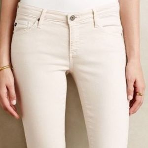 Adriano Goldschmied  Ivory Cord Pants